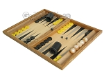 picture of Oak Backgammon Set with Racks (3 of 12)