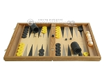 picture of Oak Backgammon Set with Racks (4 of 12)