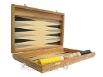 picture of Oak Backgammon Set with Racks (7 of 12)