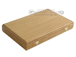 picture of Oak Backgammon Set with Racks (9 of 12)