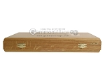 picture of Oak Backgammon Set with Racks (11 of 12)