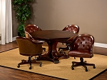 picture of Harding Game Table Set (Table + 4 chairs) (2 of 3)