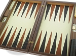 picture of Dal Negro Wood Backgammon Set - Briar Root (7 of 10)