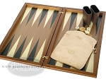 picture of Dal Negro Wood Backgammon Set - Walnut (7 of 10)