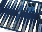 picture of 15-inch Deluxe Backgammon Set - Blue (7 of 9)