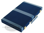 picture of 18-inch Deluxe Backgammon Set - Blue (8 of 9)