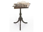 Tournament Chess & Checker Table - Item: 1623
