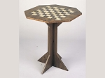 Octagon Chess Table - Item: 1620