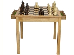Chess/Checker Table Set - Item: 2032