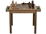 picture of Chess / Checker Table Set (1 of 2)