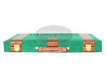 picture of 18-inch Deluxe Backgammon Set - Green (9 of 9)