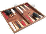 picture of Rosewood Backgammon Set with Colored Inlays (2 of 12)
