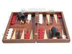 picture of Rosewood Backgammon Set with Colored Inlays (4 of 12)