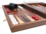 picture of Rosewood Backgammon Set with Colored Inlays (5 of 12)