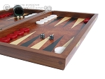 picture of Rosewood Backgammon Set with Colored Inlays (6 of 12)