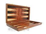 picture of Rosewood Backgammon Set with Colored Inlays (7 of 12)