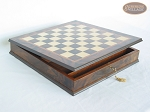 The Napoleon Chessmen with Italian Chess Board with Storage [Small]