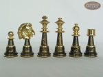 picture of The Grand Chessmen with Italian Lacquered Board [Black] (8 of 8)
