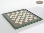 picture of Hungarian Szur Chessmen with Italian Lacquered Chess Board [Green] (5 of 7)