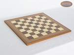 picture of Red and Black Maple Staunton Chessmen with Spanish Mosaic Chess Board (5 of 6)