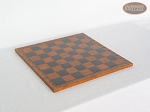 picture of Champion Brass Staunton Chessmen with Patterned Italian Leatherette Chess Board (4 of 5)