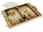 picture of 15-inch Wood Backgammon Set - Oak (2 of 11)