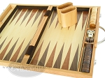 picture of 15-inch Wood Backgammon Set - Oak (9 of 11)