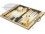 picture of 15-inch Wood Backgammon Set - Burlwood (3 of 11)
