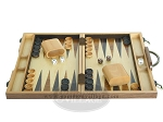 picture of 15-inch Wood Backgammon Set - Burlwood (4 of 11)