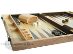 picture of 15-inch Wood Backgammon Set - Burlwood (5 of 11)