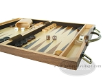 picture of 15-inch Wood Backgammon Set - Burlwood (6 of 11)