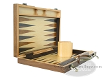 picture of 15-inch Wood Backgammon Set - Burlwood (7 of 11)