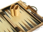 picture of 15-inch Wood Backgammon Set - Burlwood (8 of 11)
