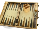 picture of 15-inch Wood Backgammon Set - Burlwood (9 of 11)