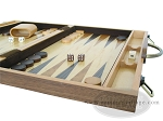 picture of 18-inch Wood Backgammon Set - Burlwood (6 of 11)