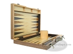 picture of 18-inch Wood Backgammon Set - Burlwood (7 of 11)