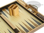 picture of 18-inch Wood Backgammon Set - Burlwood (8 of 11)