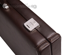 picture of Aries™ Professional Leather Backgammon Set - Brown/Beige (12 of 12)