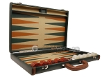 picture of Aries™ Professional Leather Backgammon Set - Green and Brown/Beige - Elite Series (10 of 12)