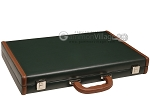 picture of Aries™ Professional Leather Backgammon Set - Green and Brown/Beige - Elite Series (11 of 12)