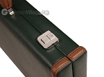 picture of Aries™ Professional Leather Backgammon Set - Green and Brown/Beige - Elite Series (12 of 12)