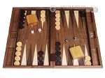 19-inch Wood Backgammon Set - Starburst Inlay - Item: 1670