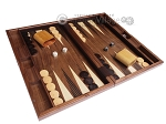 picture of 19-inch Wood Backgammon Set - Starburst Inlay (2 of 10)