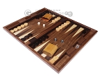picture of 19-inch Wood Backgammon Set - Starburst Inlay (3 of 10)