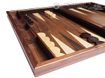 picture of 19-inch Wood Backgammon Set - Starburst Inlay (5 of 10)