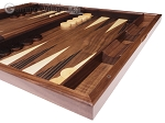 picture of 19-inch Wood Backgammon Set - Starburst Inlay (6 of 10)