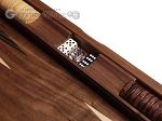 picture of 19-inch Wood Backgammon Set - Starburst Inlay (7 of 10)