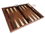 picture of 19-inch Wood Backgammon Set - Starburst Inlay (8 of 10)
