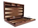 picture of 19-inch Wood Backgammon Set - Starburst Inlay (9 of 10)