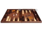 picture of 19-inch Wood Backgammon Set - Walnut Inlay (4 of 10)
